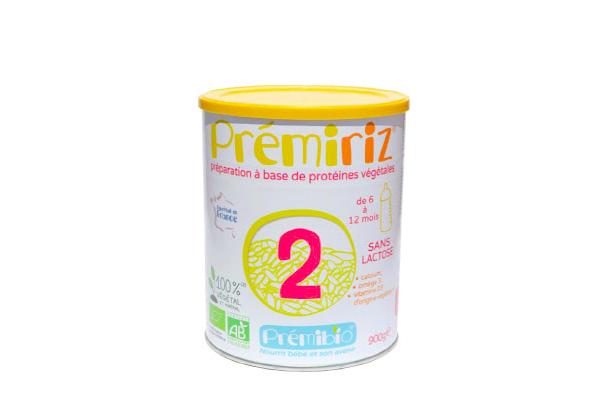 Test et avis de Prémiriz de chez Prémibio, le lait de riz infantile 100% Bio