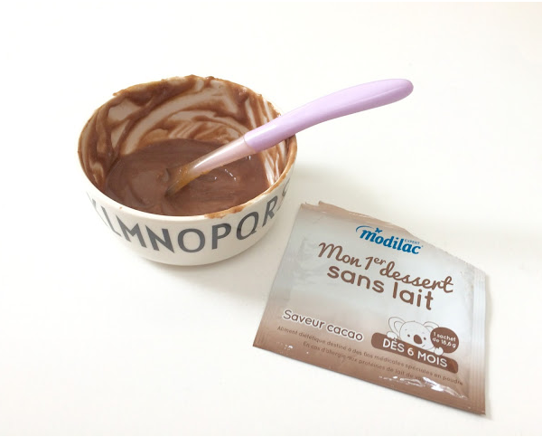 Test et avis sur « Mon premier dessert sans lait » de Modilac