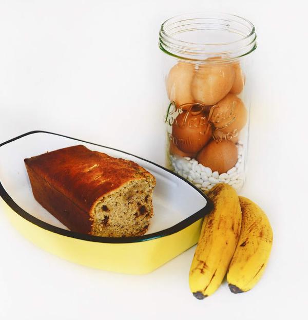Banana Bread sans protéine de lait de vache