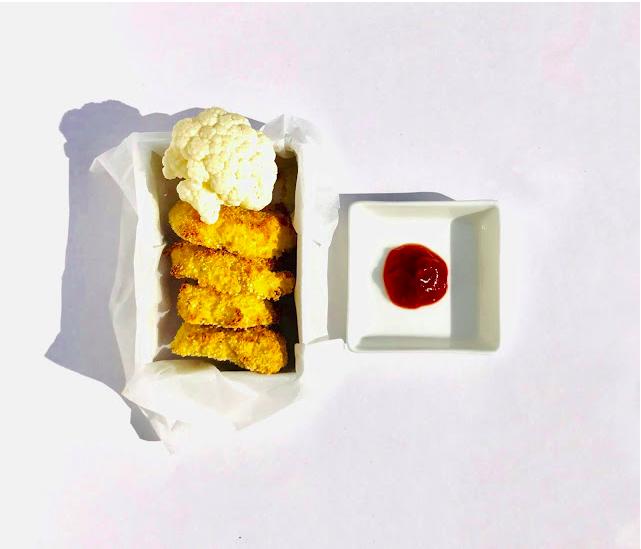 Nuggets de choux fleur sans lait