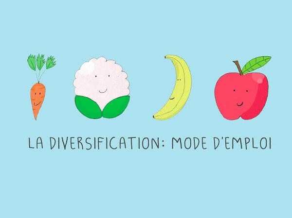 Diversification Alimentaire : Mode d'emploi (de 4 mois à 7/8 mois)