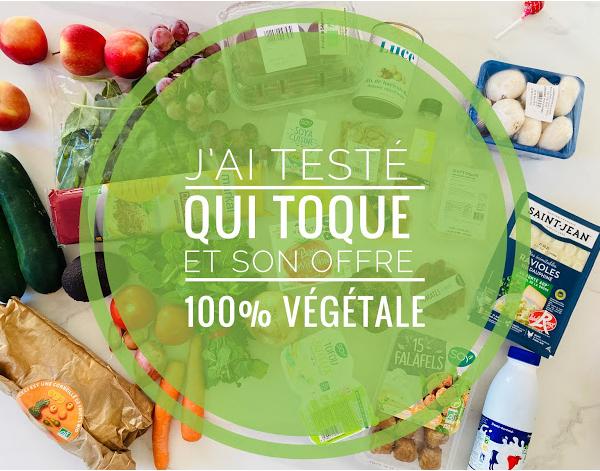 Mon avis sur Qui Toque, le panier à cuisiner, son offre 100% végétal et kids friendly